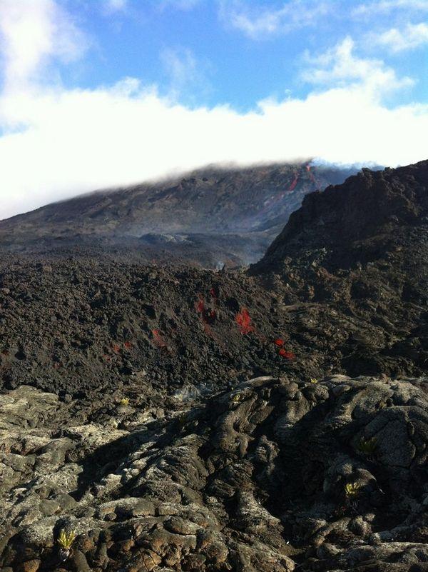 Eruption du 21 juin 2014 Piton de la Fournaise