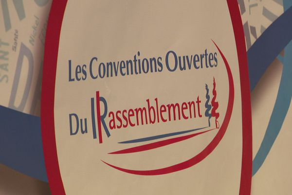 Convention ouverte Rassemblement Les Républicains.