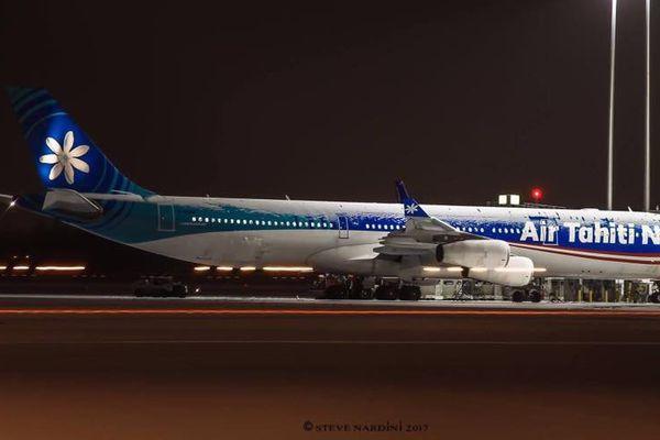 Insolite : Air Tahiti Nui sous la neige