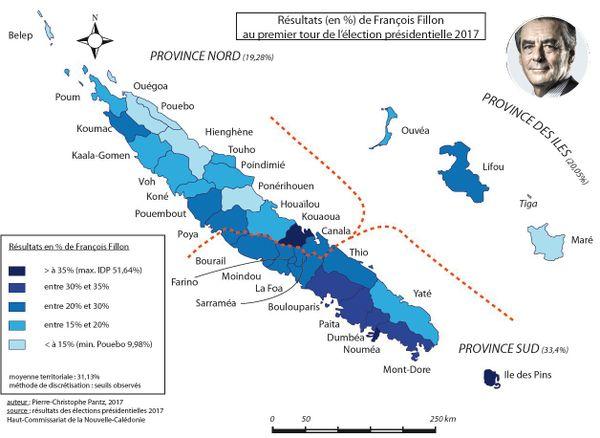 Resultat de François Fillon en NC