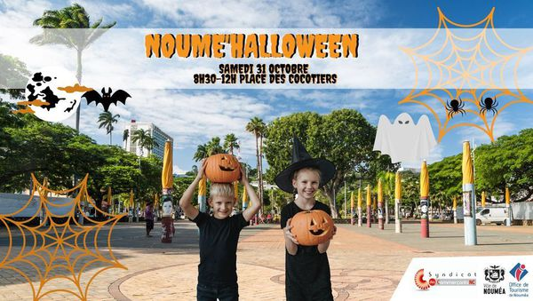 Halloween 2020, affiche de Noumé'Halloween