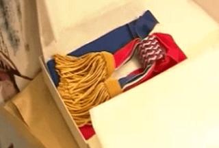 Écharpe tricolore député