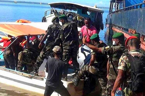 Militaires malgaches déployés dans le Nord-Ouest 29 mars 2021