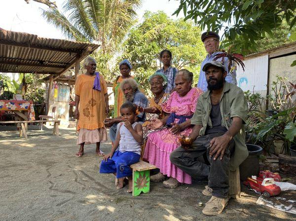 Squat de Ko We Kara, familles menacées d'expulsion, mai 2020