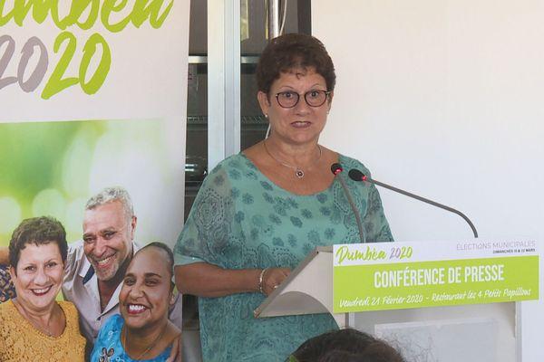 Municipales Yolande Verlaguet Calédonie ensemble Dumbéa