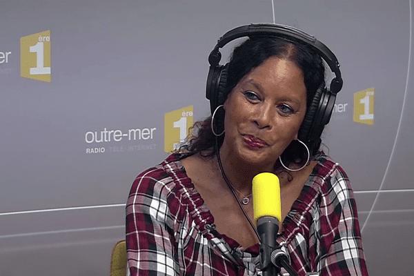 Invité du Jour de Matin1ere la comédienne et productrice France Zobda