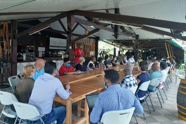 Rencontre CTG / opérateurs touristique de l'ouest guyanais