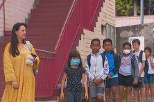 Tous les enfants retrouvent le chemin de l'école.