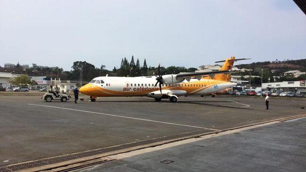 Papa Sierra l'ATR de Air Calédonie part pour le Népal, avec la compagnie Buddha Air, bis (18 janvier 2017)