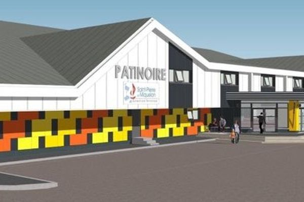 façade patinoire