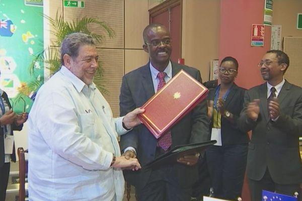 La Guadeloupe dans l'OECE