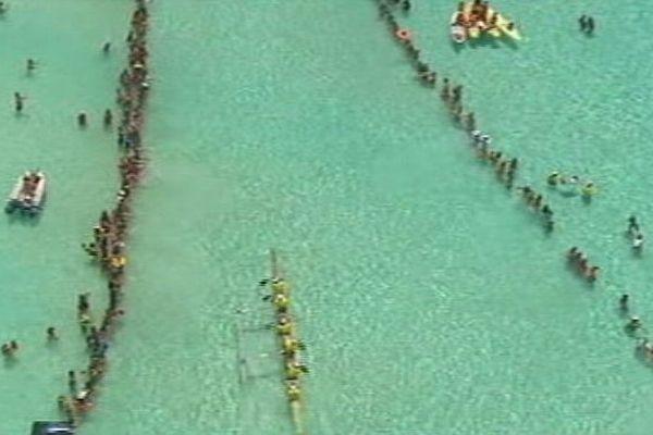 Hawaiki nui va'a 2014 Bora Bora