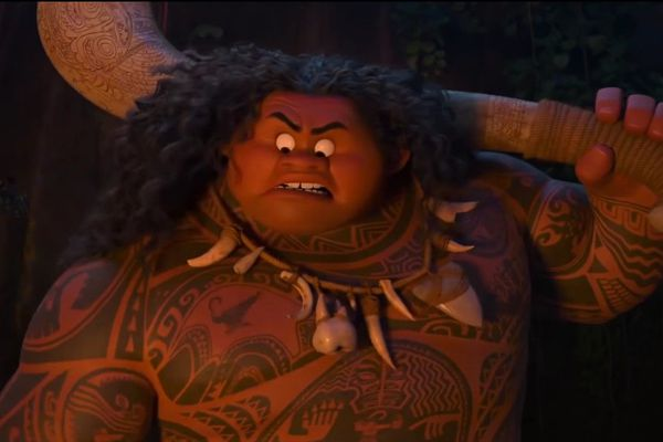 Vaiana : Maui et son tatoo vivant