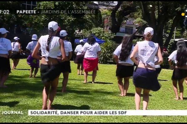 Solidarité : danser pour les S.D.F.