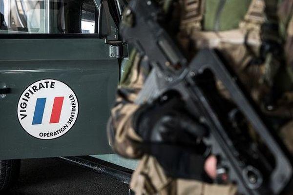 Militaire de l'opération Sentinelle (photo d'illustration).