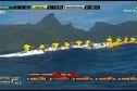 Marathon Polynésie la 1ère Va'a : une première étape remportée par Shell Va'a