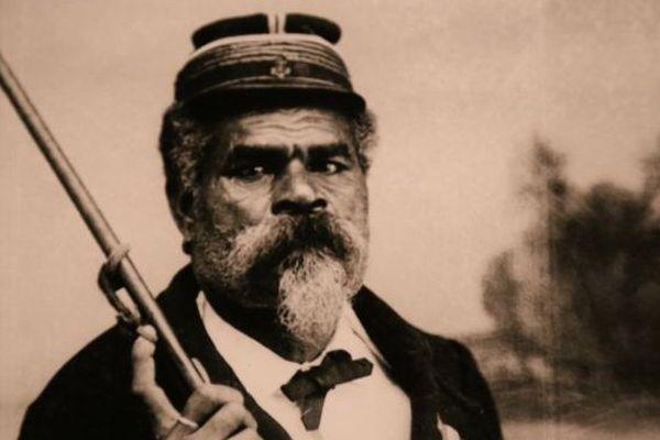 Le Grand chef Kakè vers 1880- Photo Allan Hughan