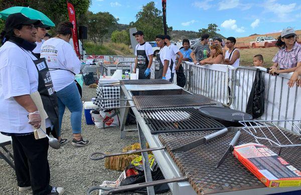 Fête du bœuf 2019, concours de barbecue