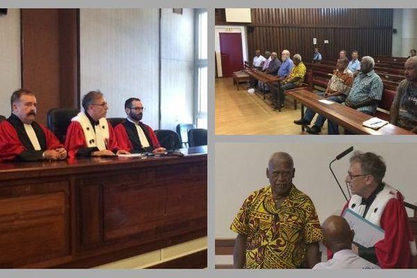 Assesseurs coutumiers : prestation de serment devant les chefs de cour