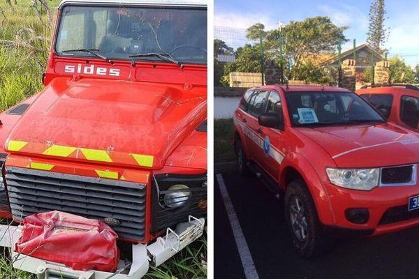Sapeur-pompiers véhicules volés