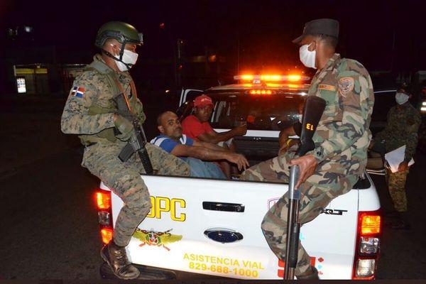 République Dominicaine COVID19 arrestations