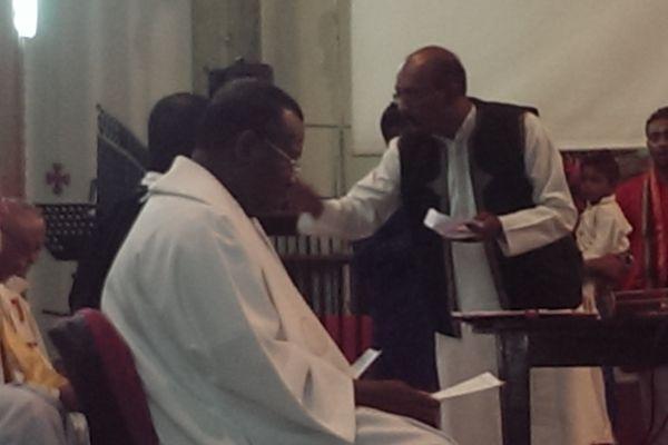 Veillée de prière oeucuménique Prêtre Nagapin