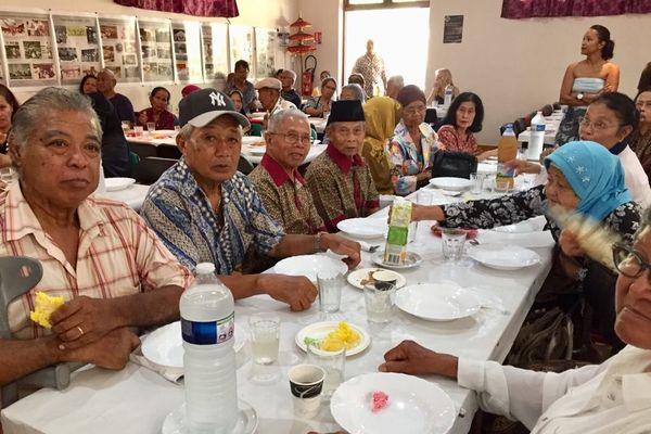 Repas indonésien anniversaire des 124 ans