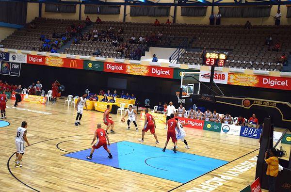 Samoa 2019, basket Calédonie-Guam