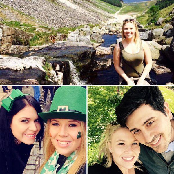 Alizé vit à Dublin où elle a rencontré son conjoint Simon
