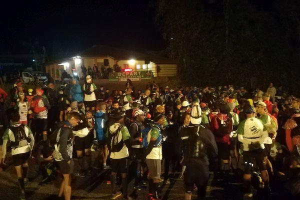 Les coureurs au départ de la Mascareignes