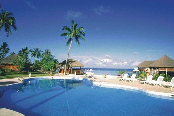 L'hôtel Te tiare beach resort
