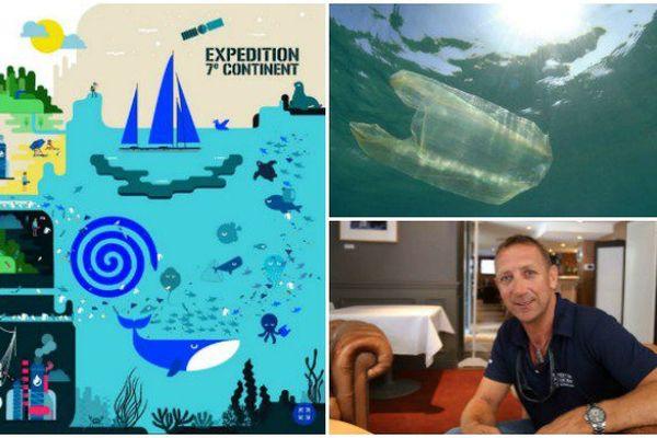 L'Expédition 7e continent et son fondateur Patrick Deixonne en lutte contre les déchets plastiques