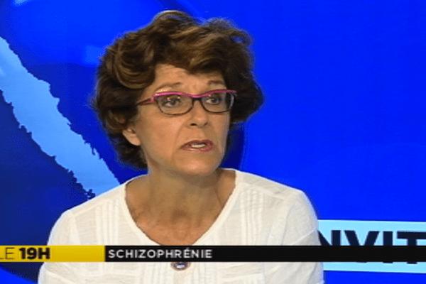 Elizabeth de Pontlevoye, présidente de l'association Hippocampe
