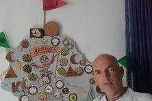 Eric Mahé, participant à la Masacareignes