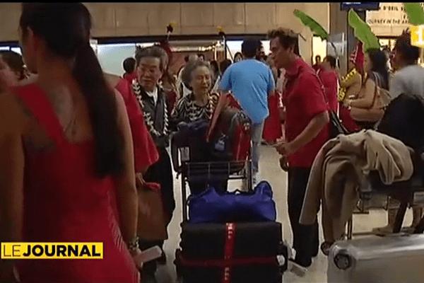 Premier vol charter entre Pékin et Tahiti