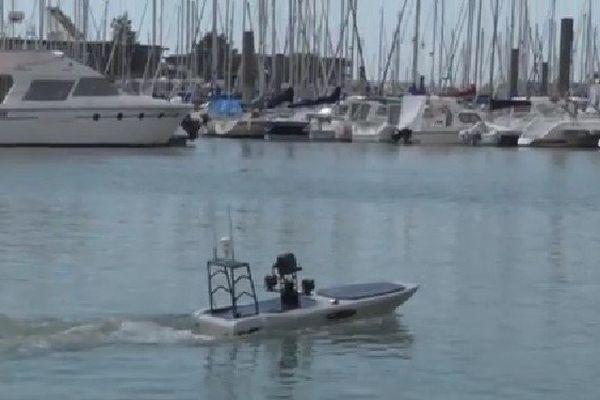 un bateau robot anti requin 2