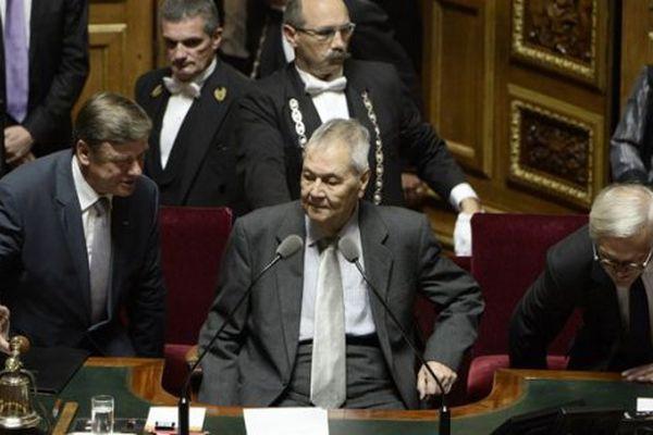Paul Vergès au sénat en 2014