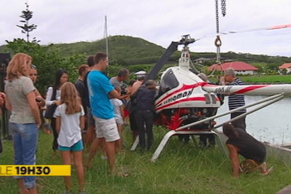 Crash d'un ULM-Hélicoptère à Naïa