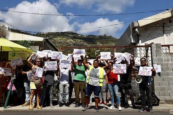 Grève salariés GIHP Saint-Denis 071118