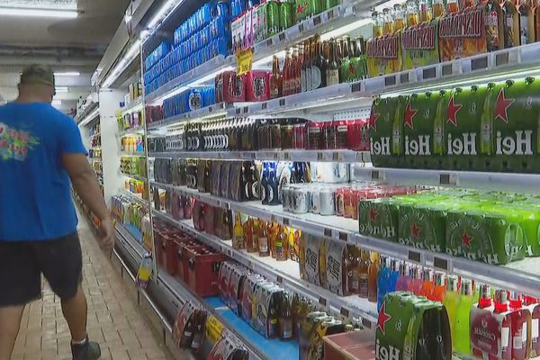 vente d'alcool Huahine