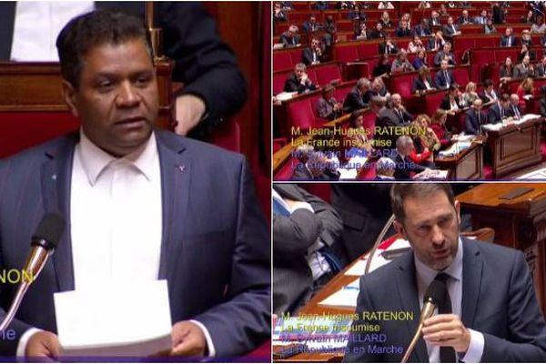 Jean-Hugues Ratenon, député (France Insoumise) de La Réunion.