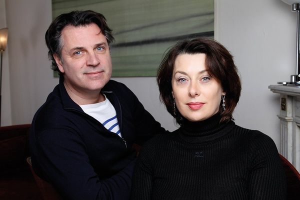 José-Louis Bocquet et Catel Muller, les auteurs de Joséphine Baker