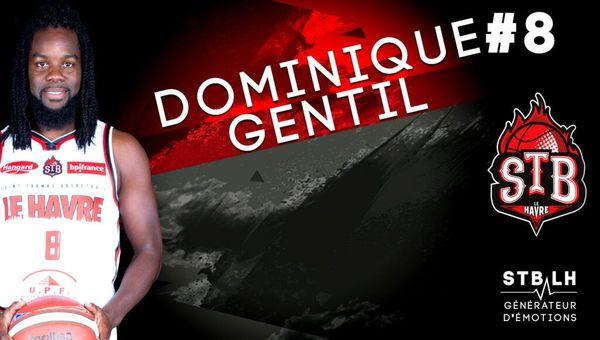 Le Martiniquais Dominique Gentil.