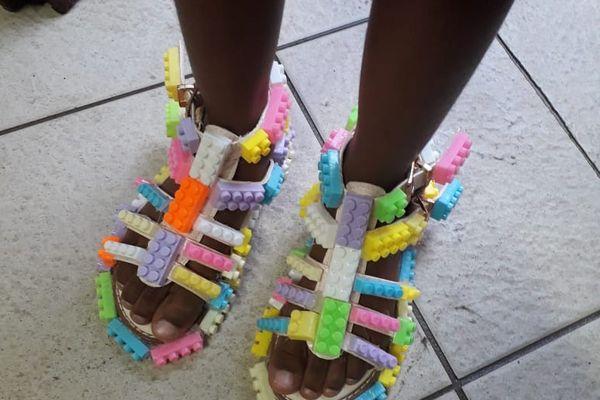 """Crazy Shoes Day"" légos"