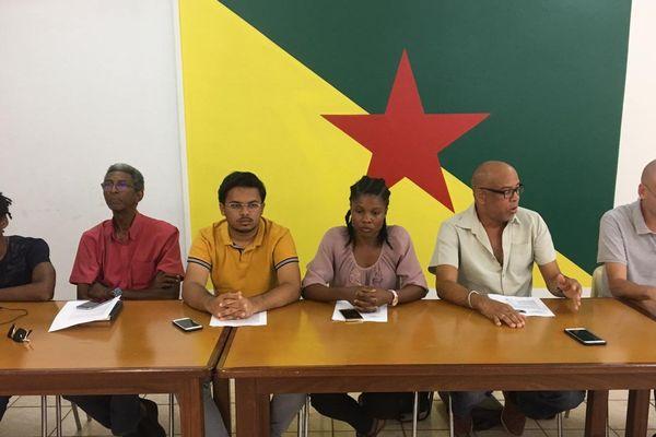 Grève Université de Guyane