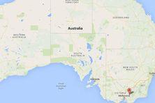 Capture d'écran montrant le Parc national du lac Eildon, dans l'Etat de Victoria, en Australie. ( GOOGLE MAPS)