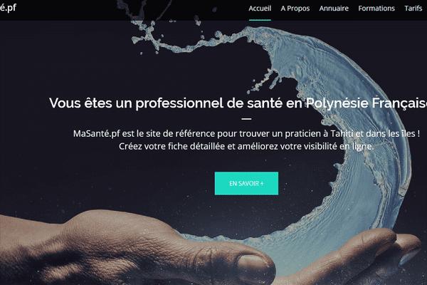 masante.pf / site internet santé