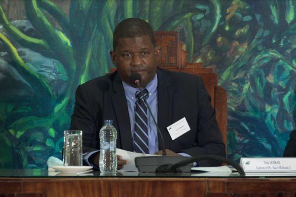 Guy Losbar, président du Conseil départemental