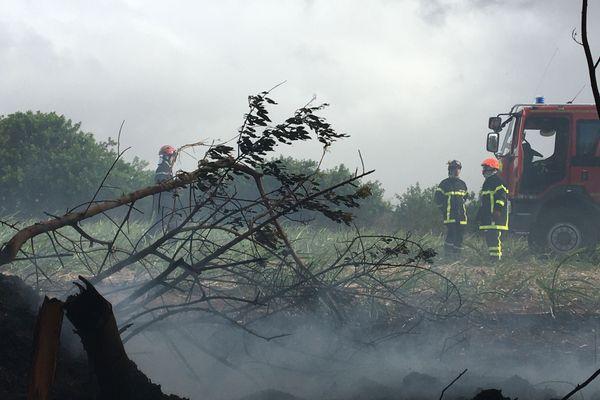 Incendie à Sainte-Marie - 4