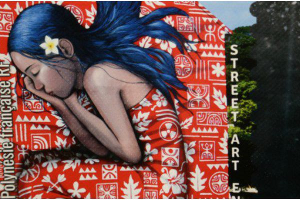 Quand le street art inspire la philatélie polynésienne